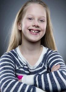Avery, age 10
