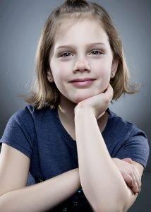 Annika, age 9
