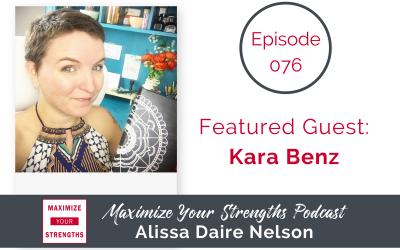 076: Bullet Journal Your Way with Kara Benz