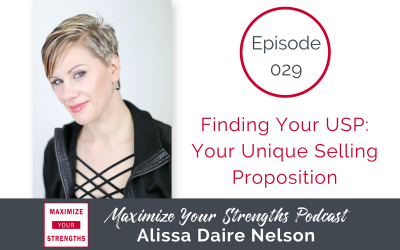 029: Finding Your USP: Your Unique Selling Proposition